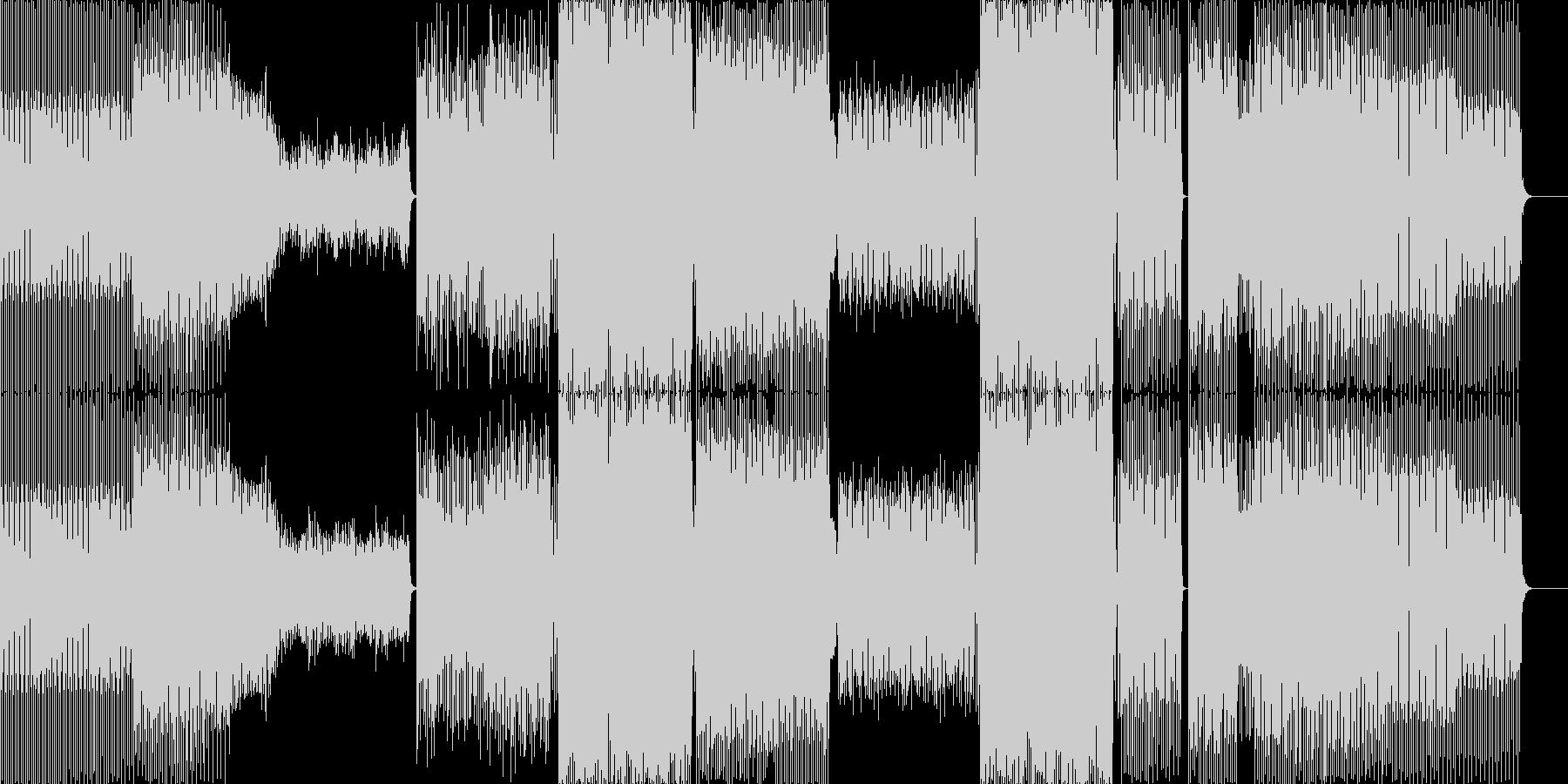 さまざまなムードと強力なテクノディ...の未再生の波形