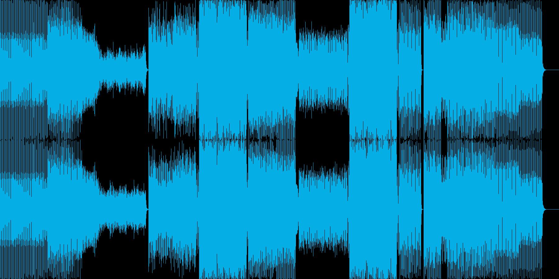 さまざまなムードと強力なテクノディ...の再生済みの波形