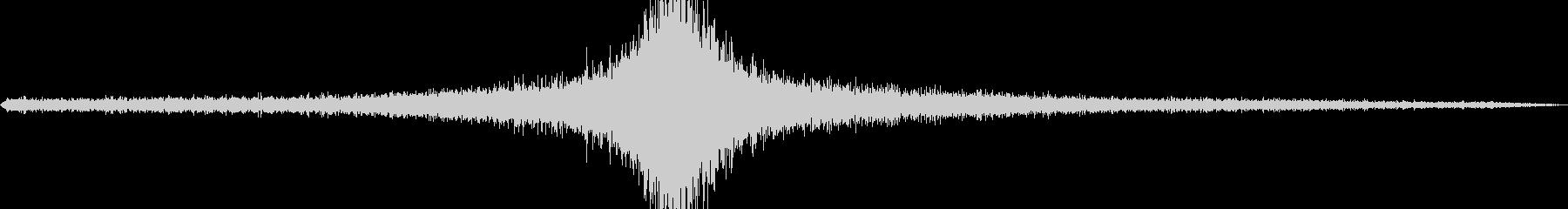 20 Mphのジープの未再生の波形