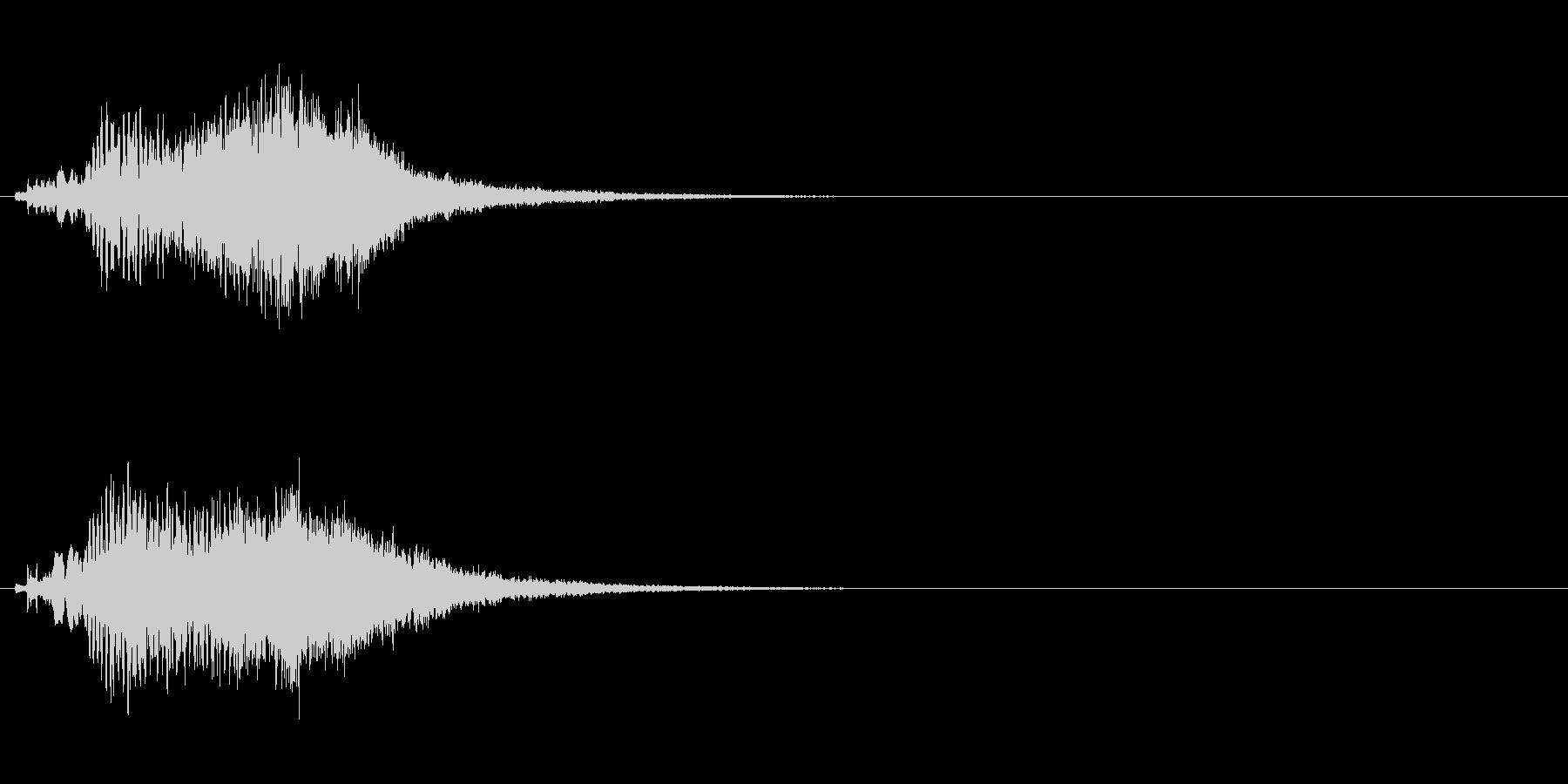 ハープ・上昇_4-3の未再生の波形