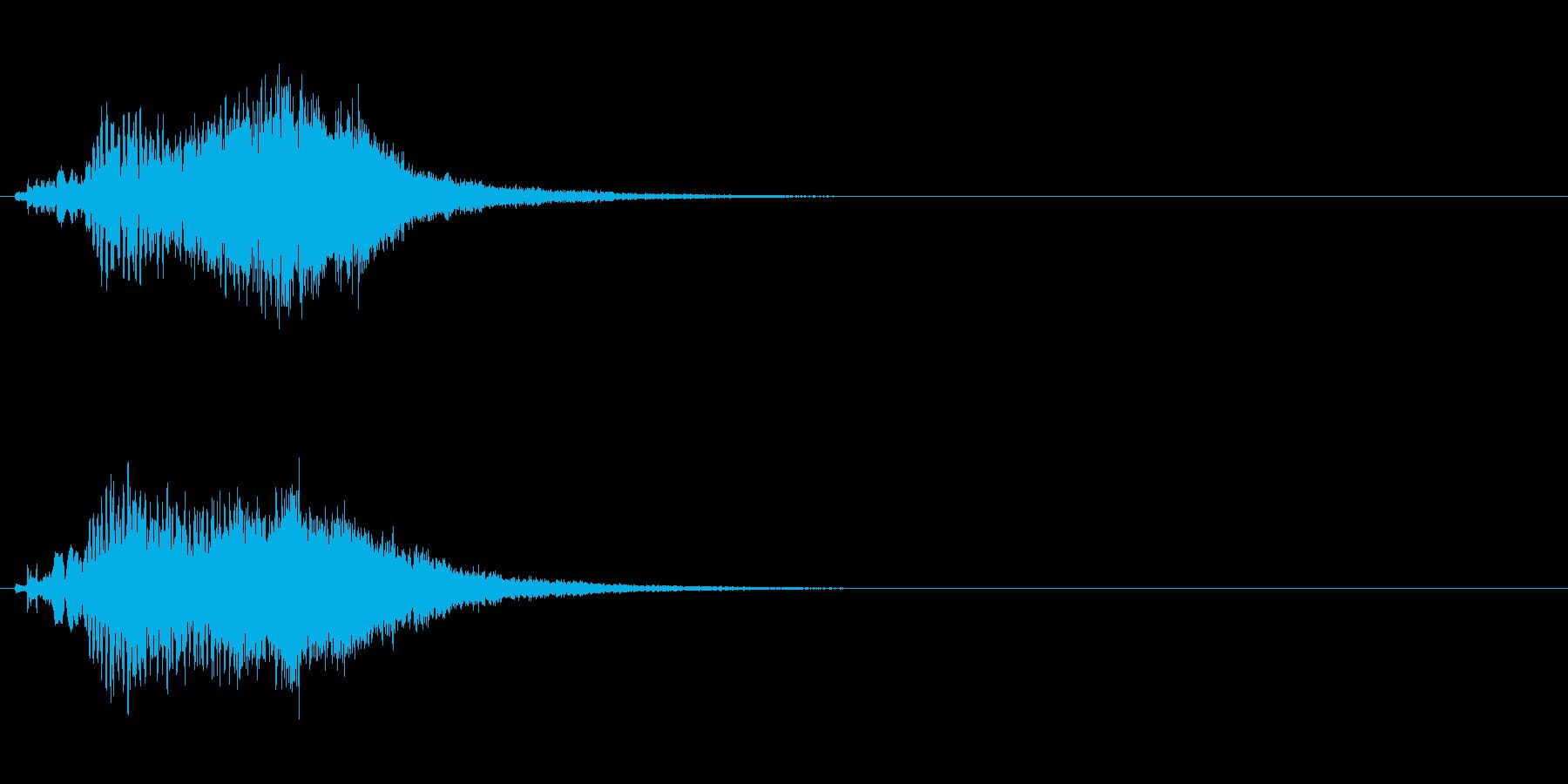 ハープ・上昇_4-3の再生済みの波形