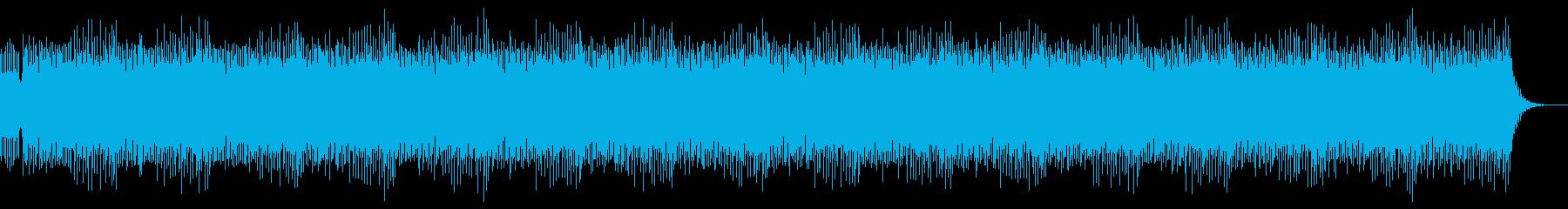 のりのりのシンセリードダンスBGMの再生済みの波形