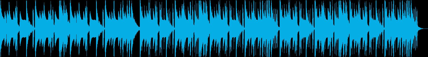 怪しい不気味コミカルなヒップホップcの再生済みの波形