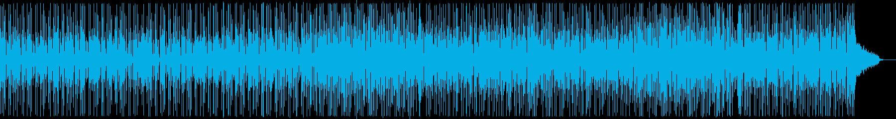 コミカルなファンキーオルガン:フルx1の再生済みの波形