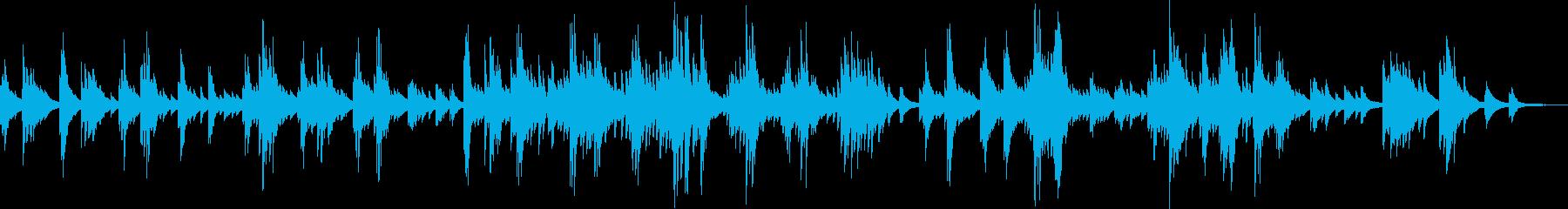 優しくて切ない、感動的なピアノバラードの再生済みの波形