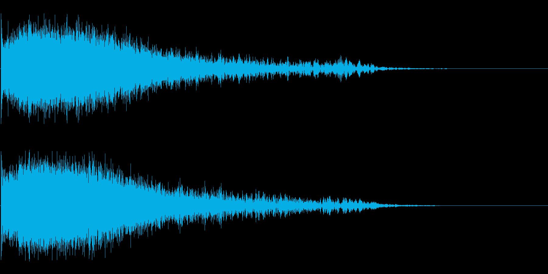 Dark_Sweepdown-01の再生済みの波形