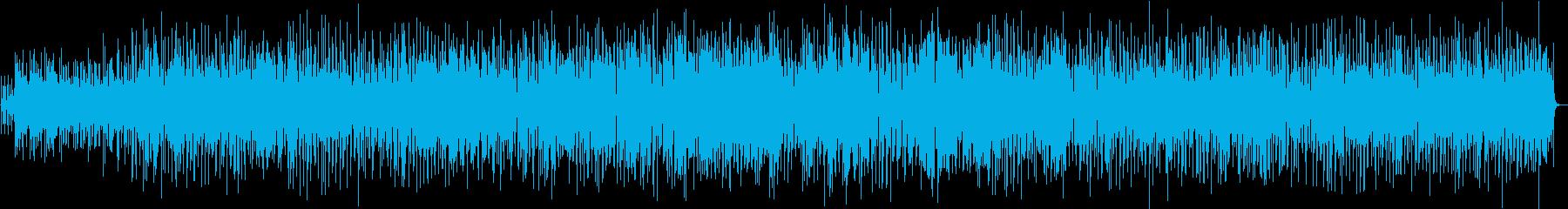 軽快でポップなボサノバの再生済みの波形