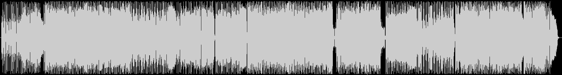 RADIPHONEの未再生の波形