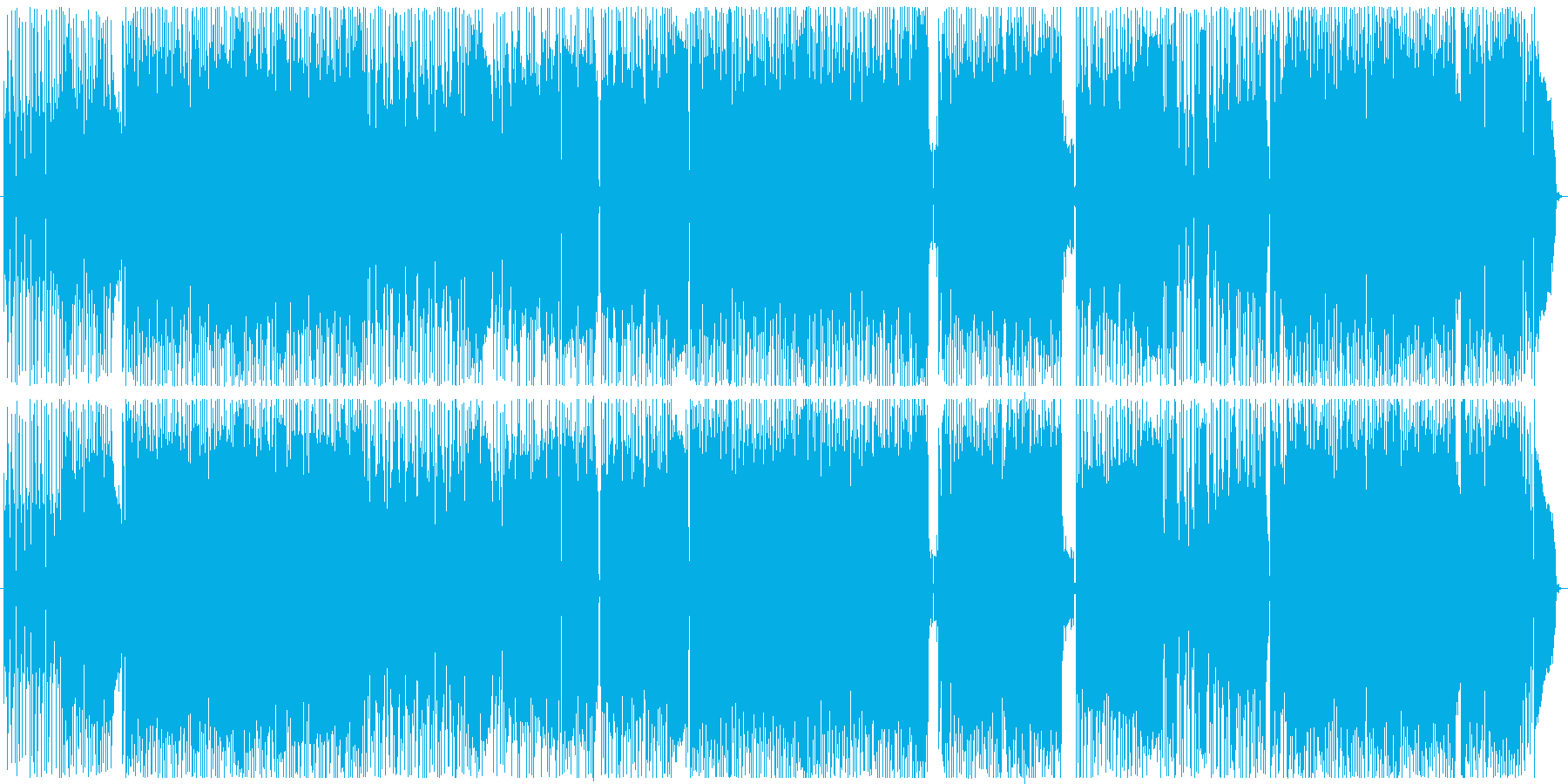 RADIPHONEの再生済みの波形