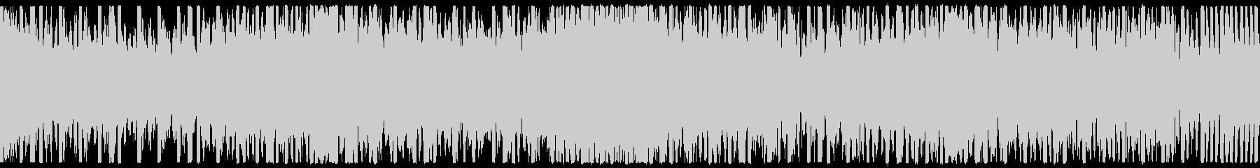 EDM、サイバー系ゲーム等、ループ①の未再生の波形