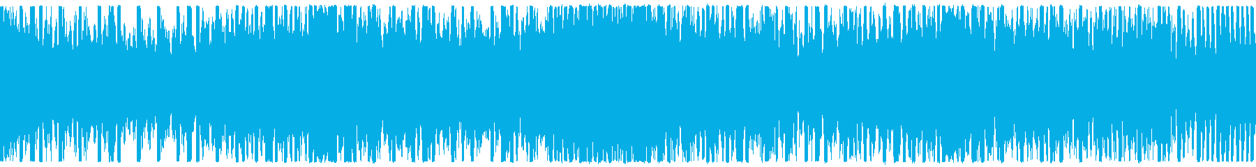 EDM、サイバー系ゲーム等、ループ①の再生済みの波形