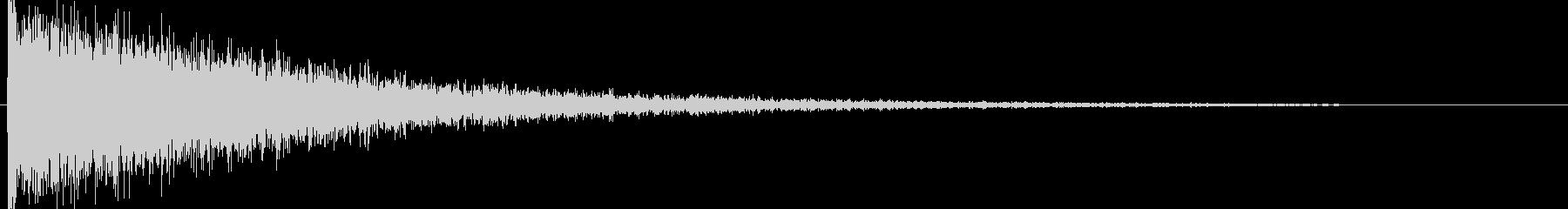 映画告知音58 ドーンの未再生の波形