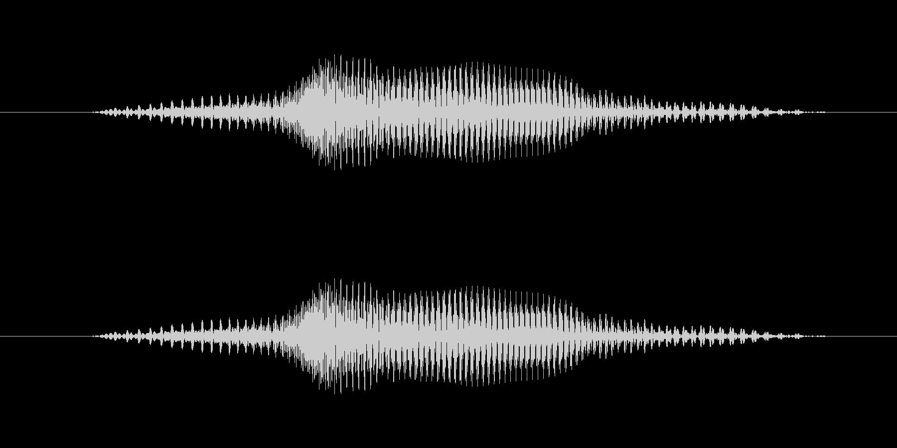 4(よん)-明るいトーンお兄さん風の未再生の波形