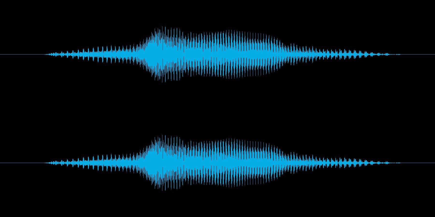 4(よん)-明るいトーンお兄さん風の再生済みの波形
