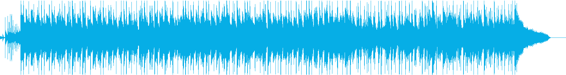 わくわくするようなアコースティック曲の再生済みの波形