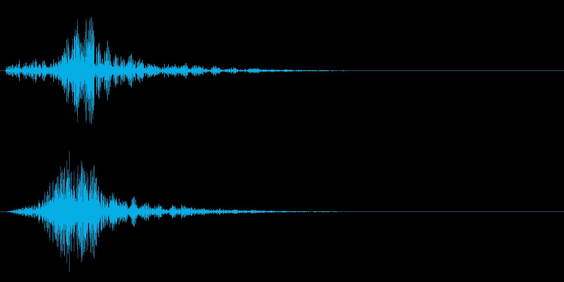 シャ!カットイン/風切り/サウンドロゴ2の再生済みの波形