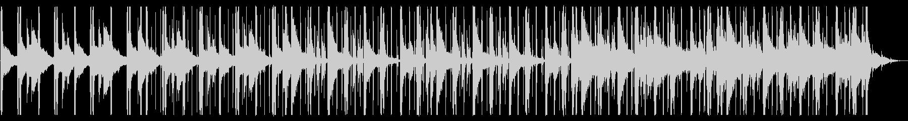 のんびり/Hiphop_No586_2の未再生の波形