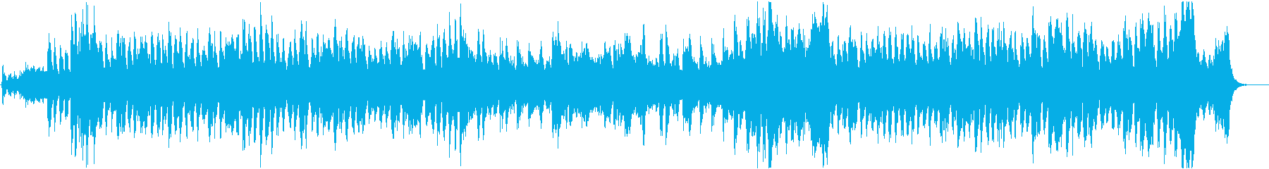冒険をイメージした壮大なゲーム音楽の再生済みの波形