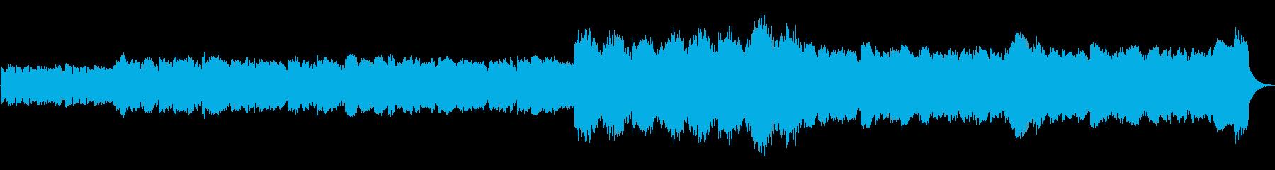 オカリナ三重奏ほのぼのとした雪の夜の感じの再生済みの波形
