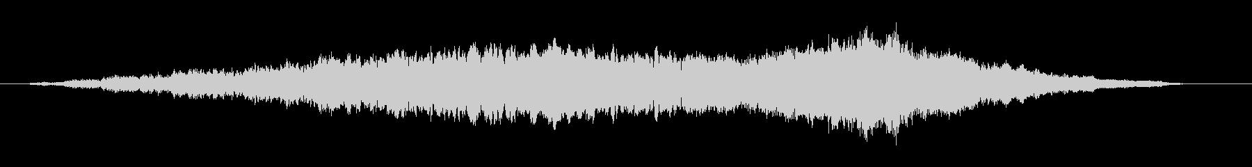 素材 フェージングドローンベル02の未再生の波形