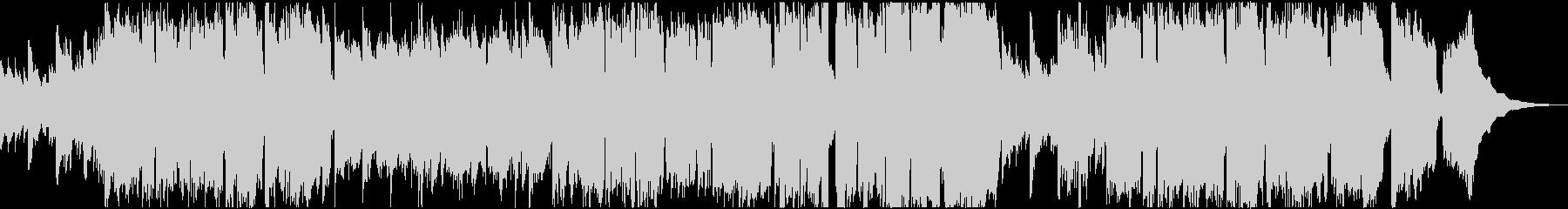ゆっくり穏やかなケルト系の曲の未再生の波形