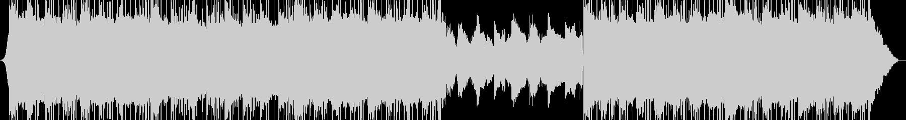 クラブのリラクゼーションエレクトロ背景の未再生の波形