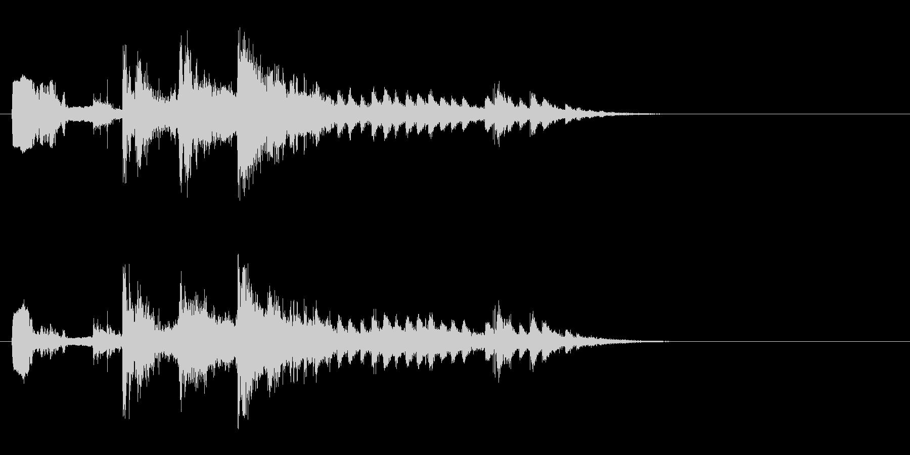サウンドエフェクトクライマックスミ...の未再生の波形
