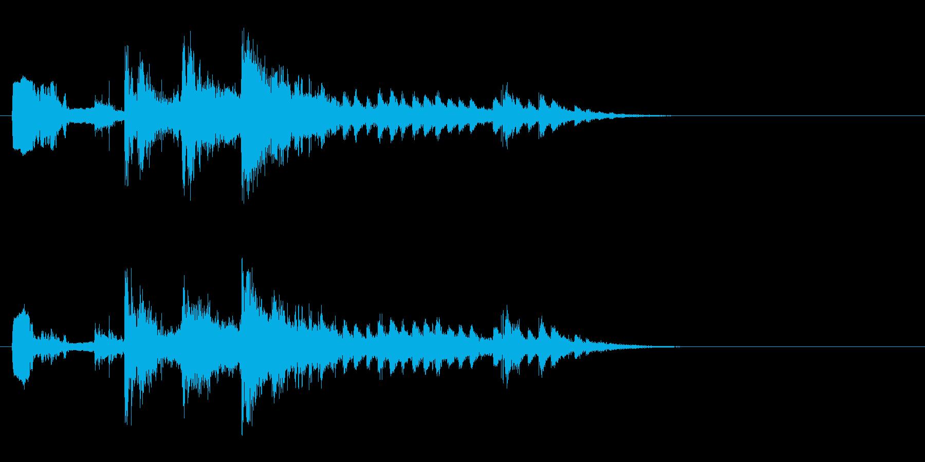 サウンドエフェクトクライマックスミ...の再生済みの波形
