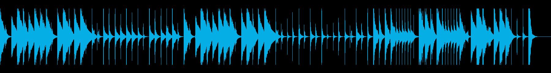 おとぼけ コミカルで明るい ループ仕様の再生済みの波形
