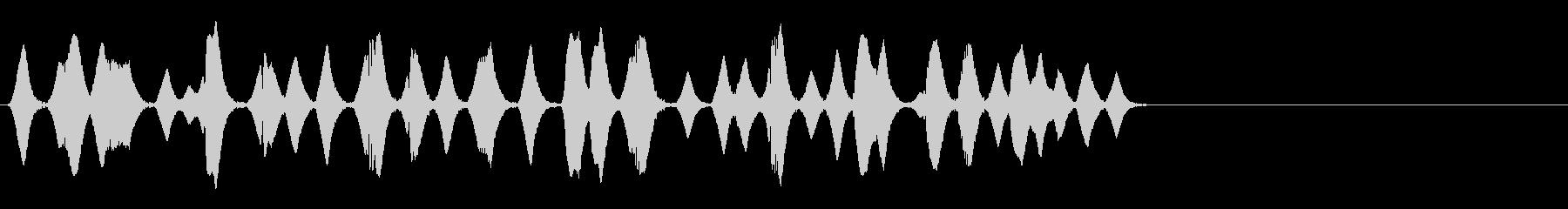泡/気泡/あぶく/プクプク_001の未再生の波形