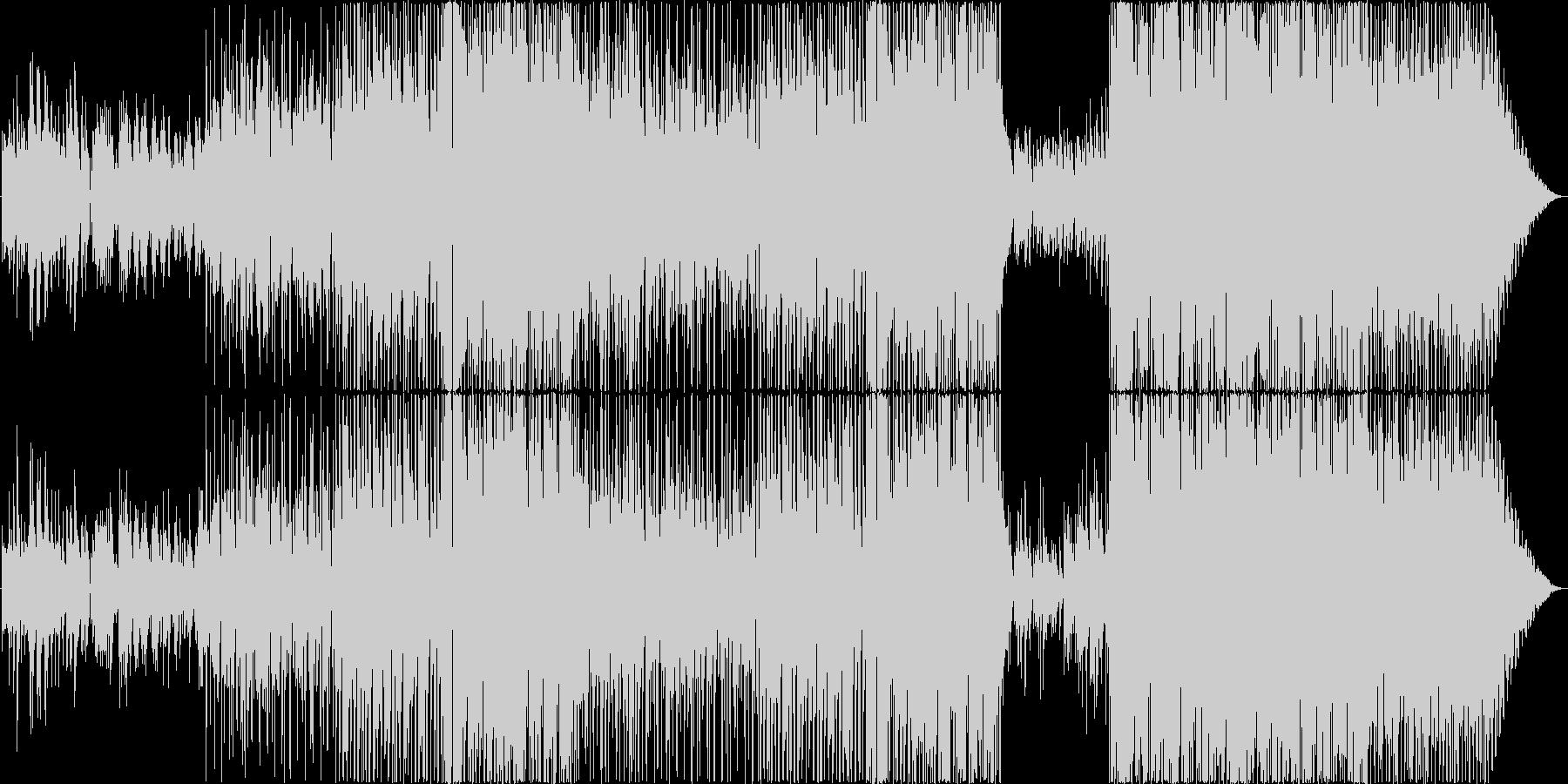オモイデ1ページの未再生の波形