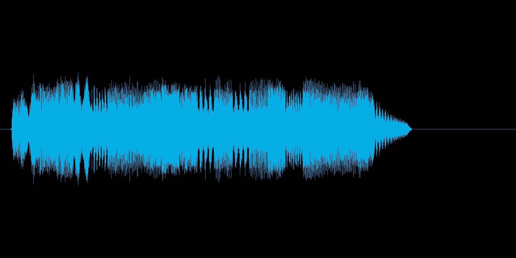 コンピューターのような効果音_その5の再生済みの波形