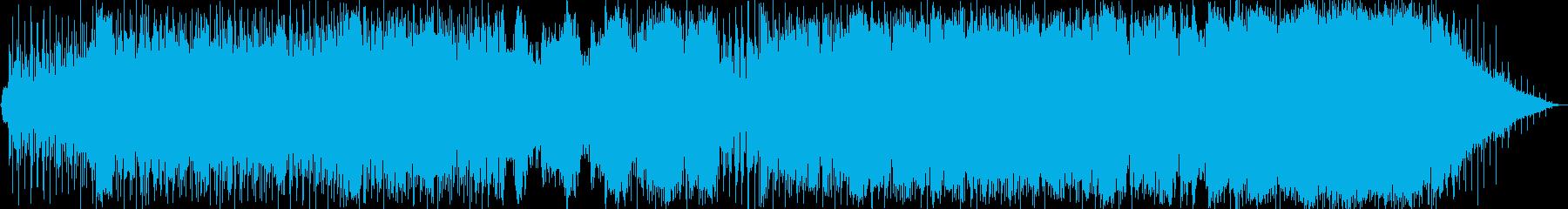 インド風モダンなインスト曲の再生済みの波形