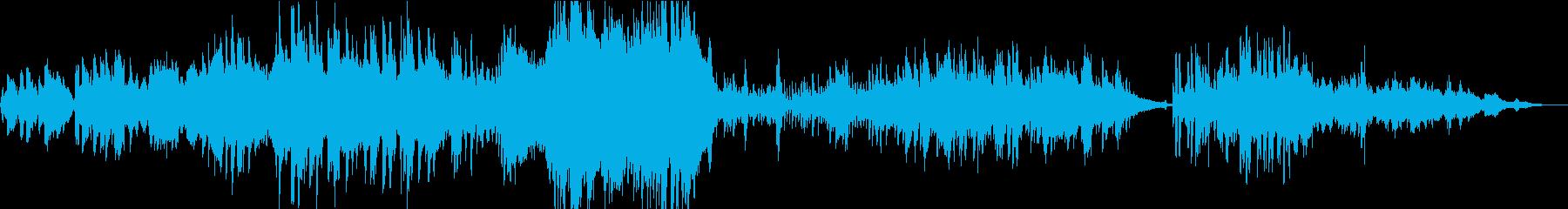 ヴァイオリン生演奏によるジュピターの再生済みの波形