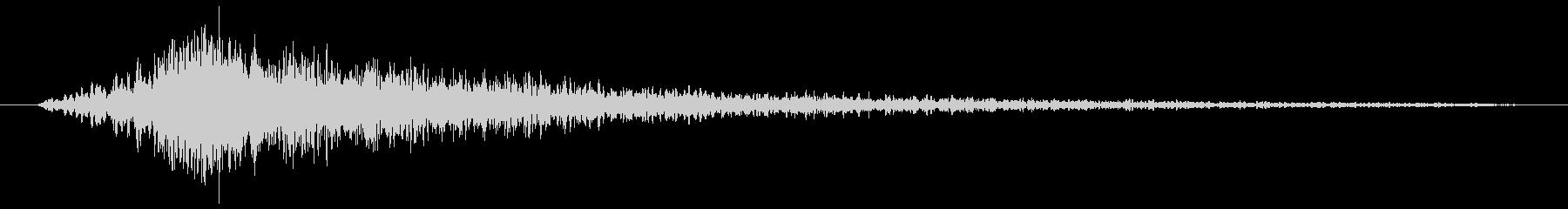 打撃 ロングラウドインパクト01の未再生の波形