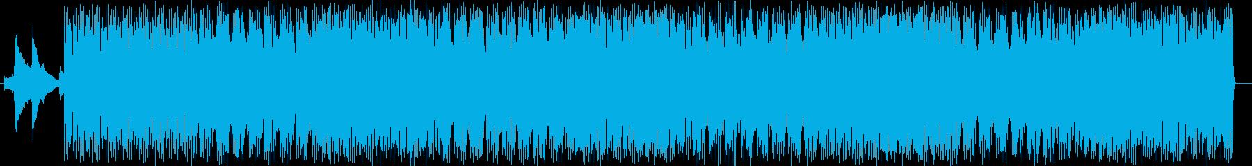 夜の雑踏を闊歩するエキサイティングソウルの再生済みの波形