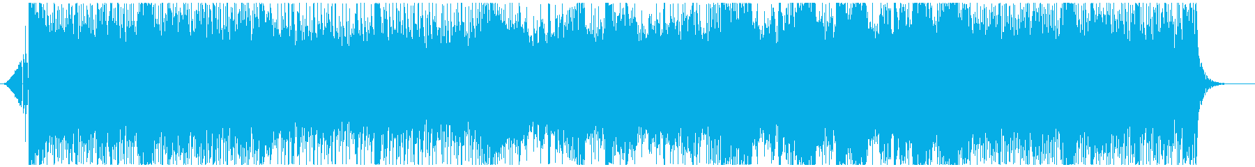 RPGのオープニング風ドラムンベースの再生済みの波形