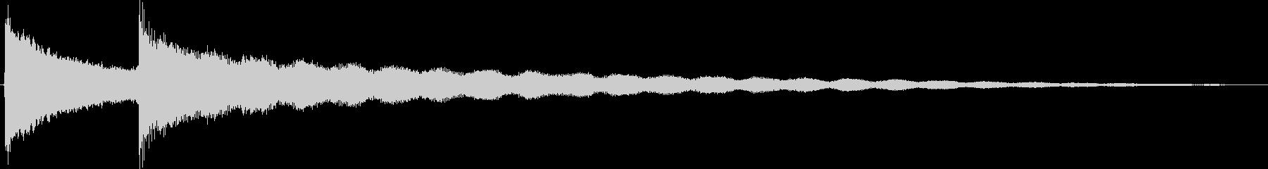 大きなゾンネバーグマントル時計:2...の未再生の波形
