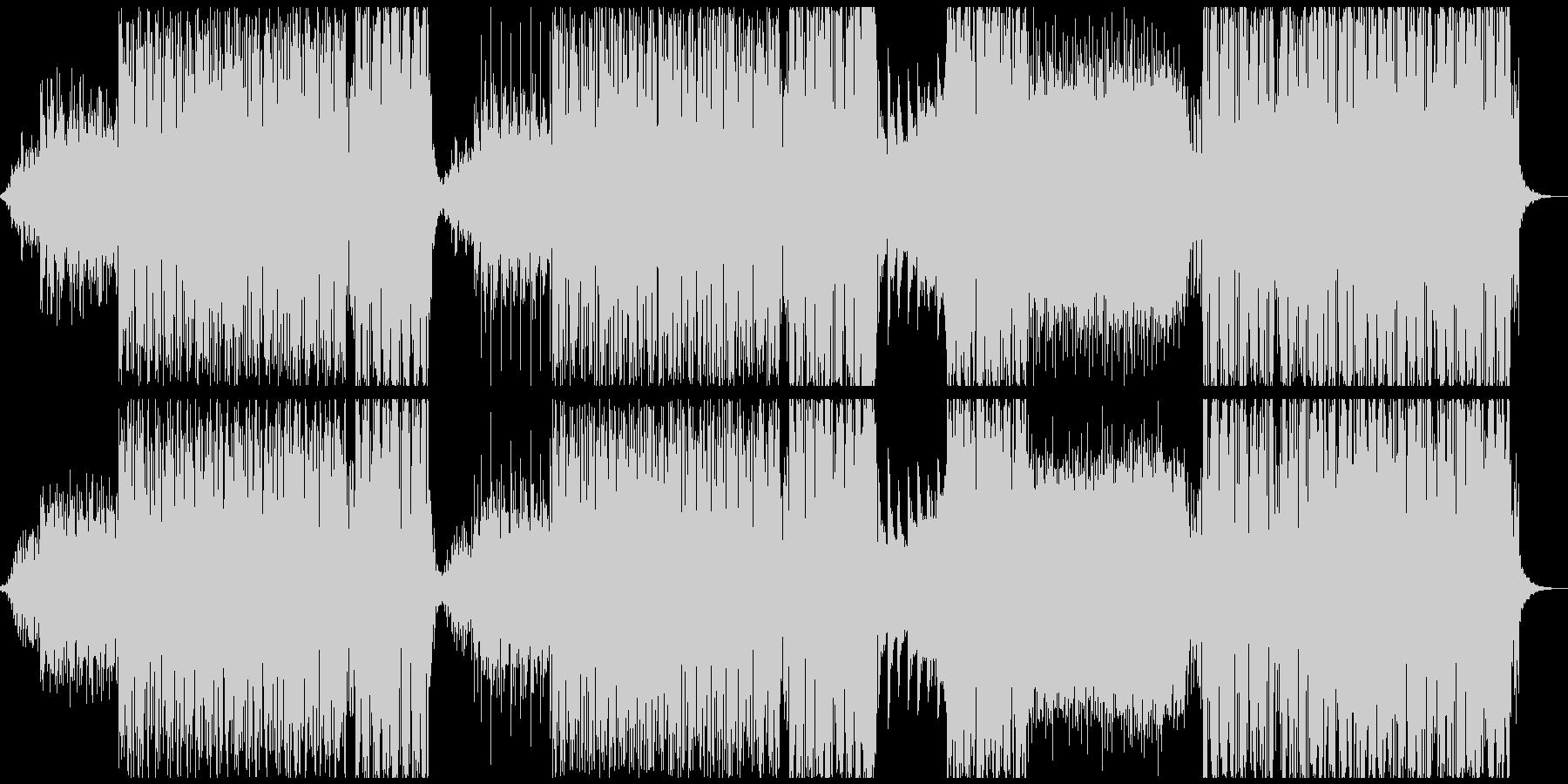 ウエット感のあるトロピカルハウスの未再生の波形