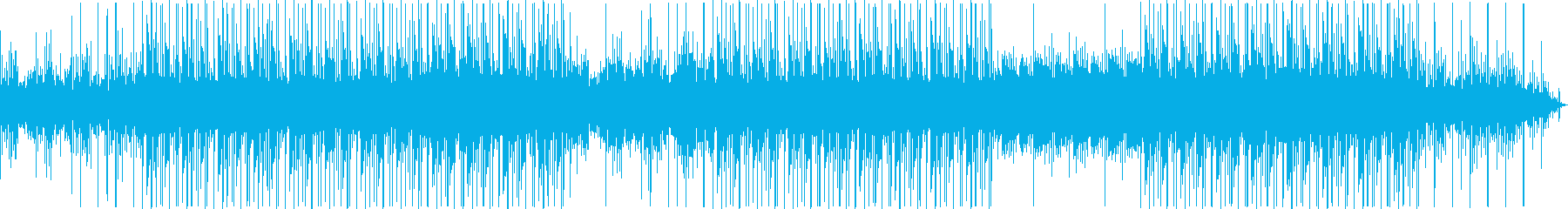 近代的 Synth Wave LoFi の再生済みの波形