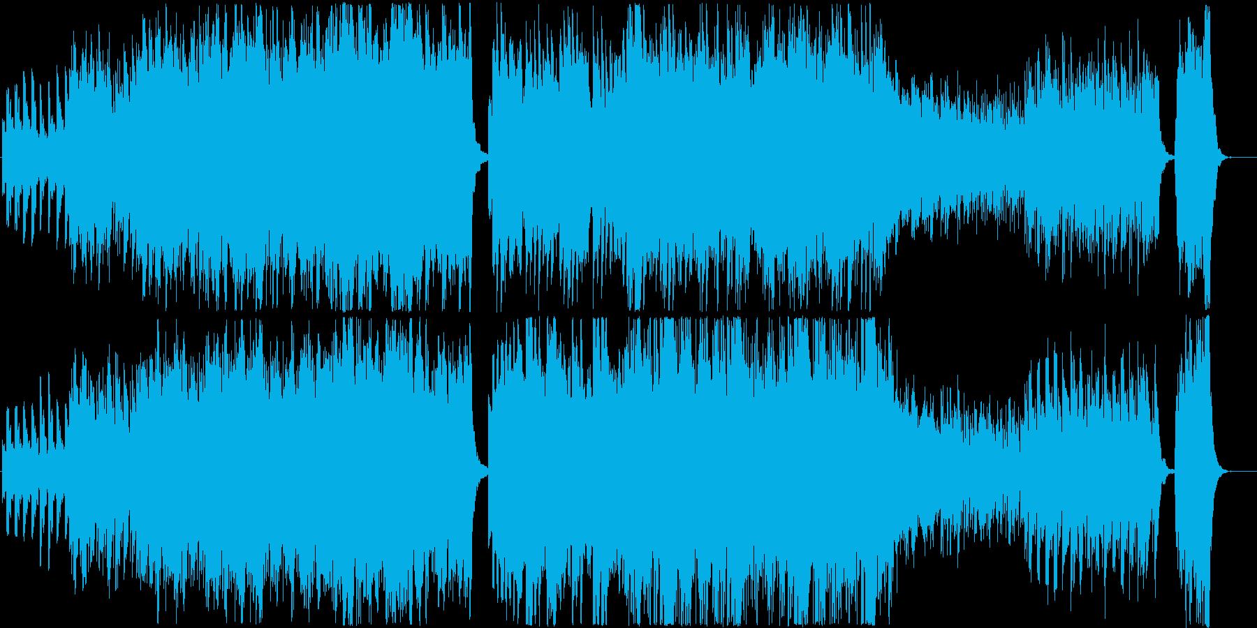 動画 センチメンタル 感情的 ファ...の再生済みの波形