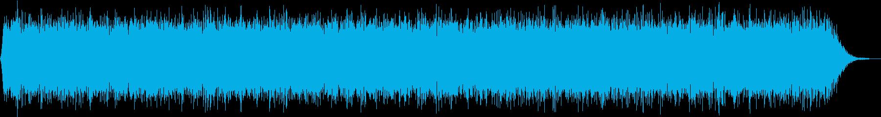 【アンビエント】ドローン_49 実験音の再生済みの波形