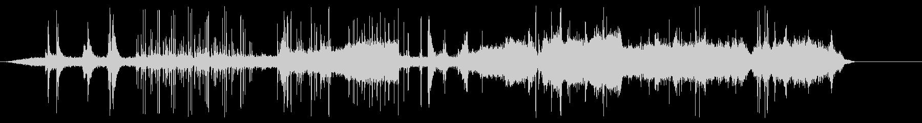 アタビコスとバグパイプを叫ぶの未再生の波形