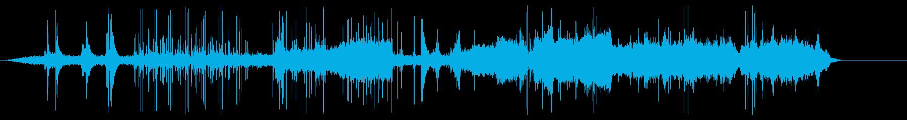 アタビコスとバグパイプを叫ぶの再生済みの波形