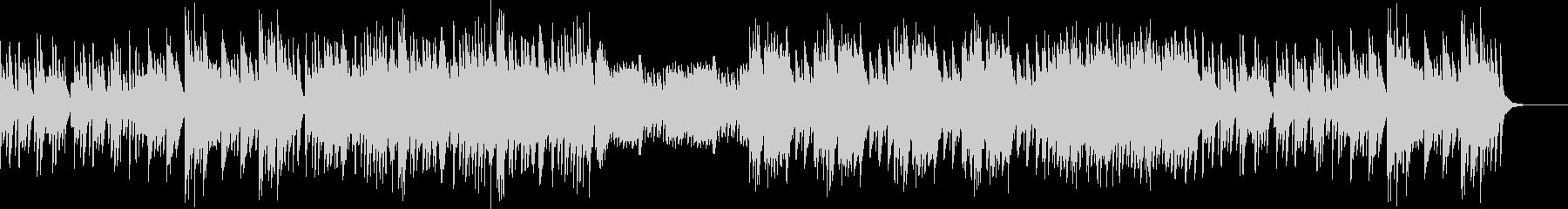 静かで切ない系のピアノ曲の未再生の波形