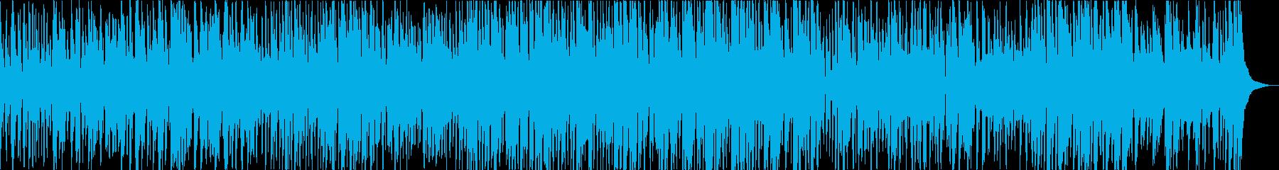 ハッピーな雰囲気のジャズの再生済みの波形