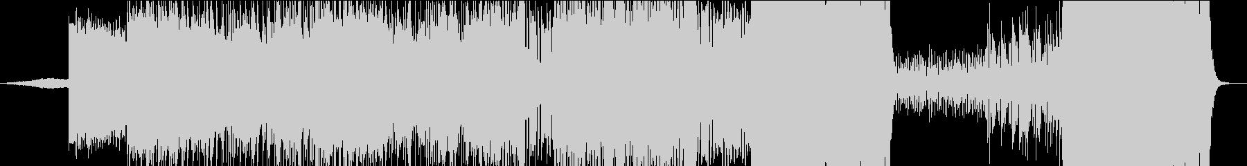 ヒトノキモチニナ~ルの未再生の波形
