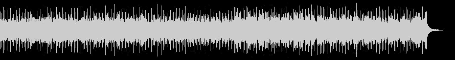 重厚で美しいバンドロックBGMの未再生の波形