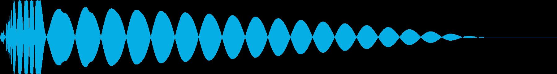 DTM Kick 43 オリジナル音源の再生済みの波形