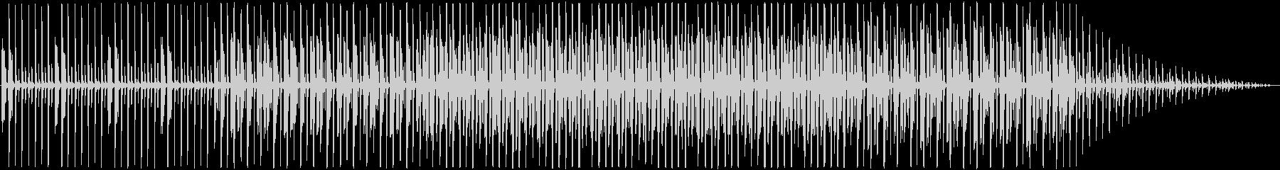 プログレッシブハウス。インディー。の未再生の波形